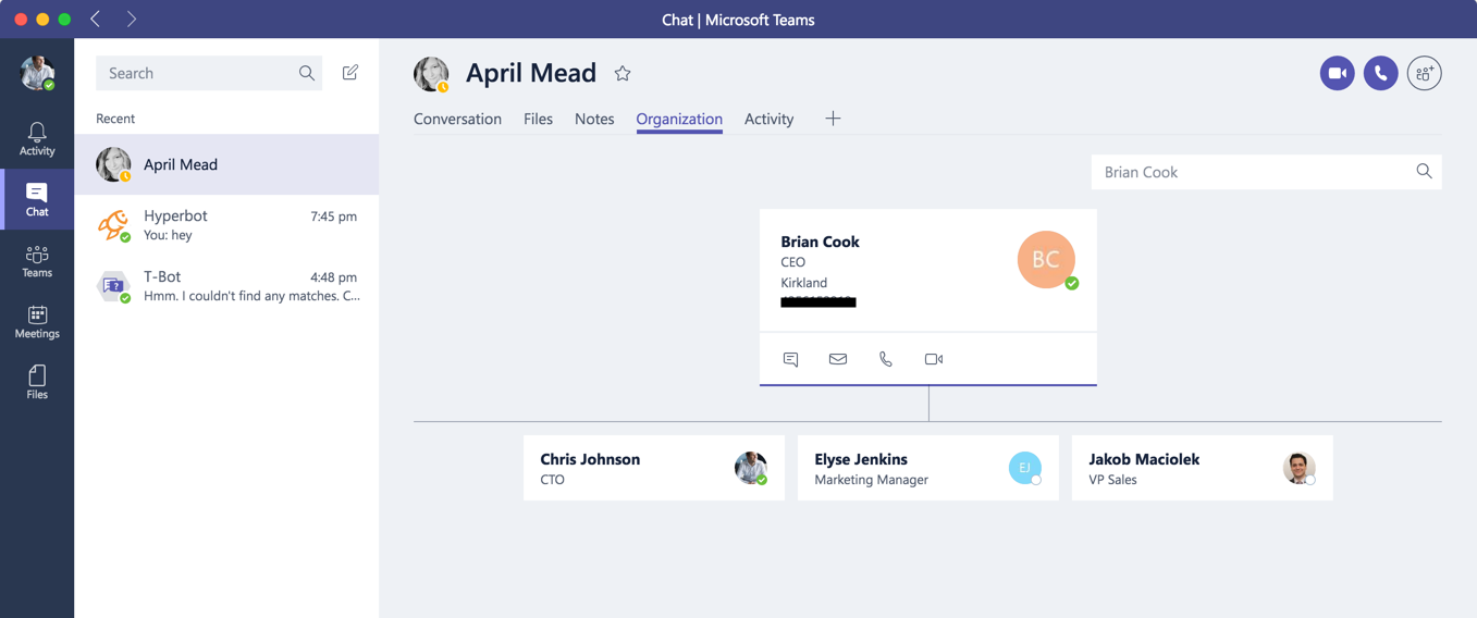 microsoft teams puts people at the center chris johnson s loosely
